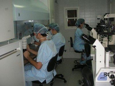 Laboratorio de Fecundación in vitro
