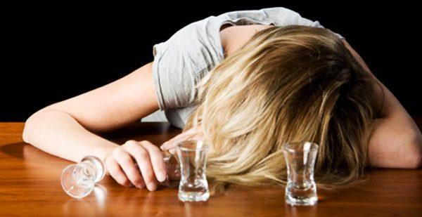 Desmayos alcohol