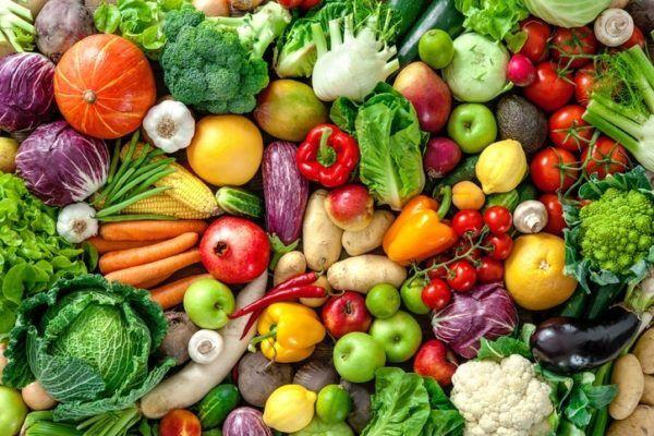 Menu para transaminasas altas frutas y verduras