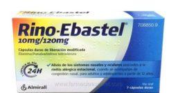 Rino Ebastel – Prospecto, efectos secundarios y advertencias
