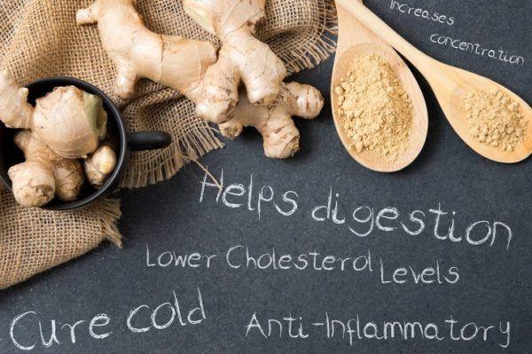 Ventajas del jengibre antiinflamatorio