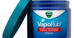 Usos medicinales desconocidos del Vicks Vaporub