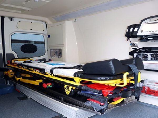 ambulancia infarto