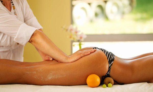Auto masaje aductores con exfoliante