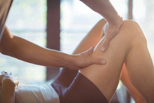 Auto masaje aductores por delante