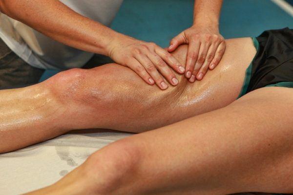 Auto masaje aductores restregado