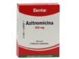 Azitromicina para infecciones de oído y de garganta: Indicaciones y Efectos secundarios