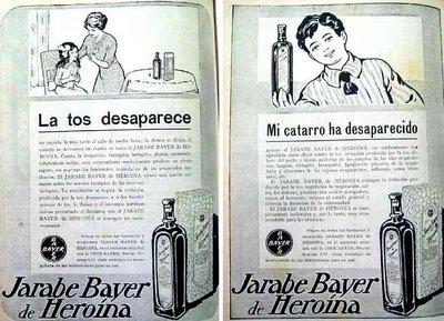 Hero�na para la tos de Bayer