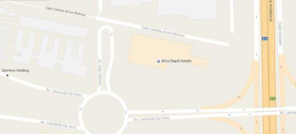 brico-depot-horario-getafe-plano