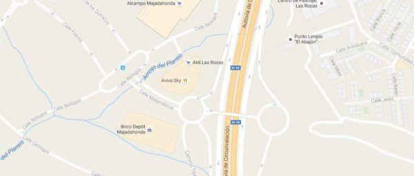 brico-depot-horario-majadahonda-plano