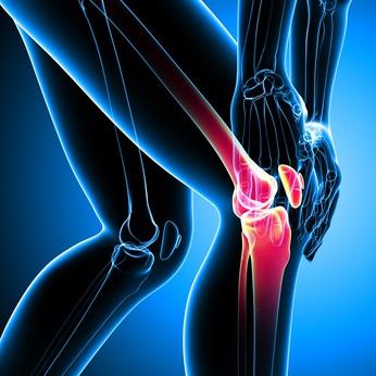 female knee pain