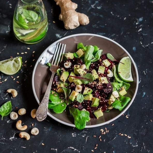 Como tomar jengibre alino ensalada