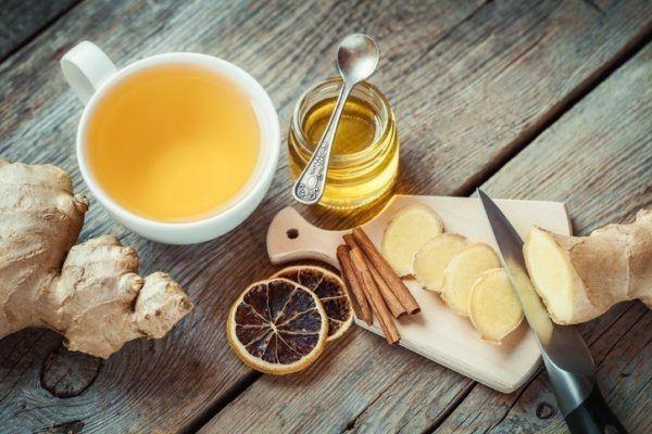 Como tomar jengibre te caliente de jengibre y limon