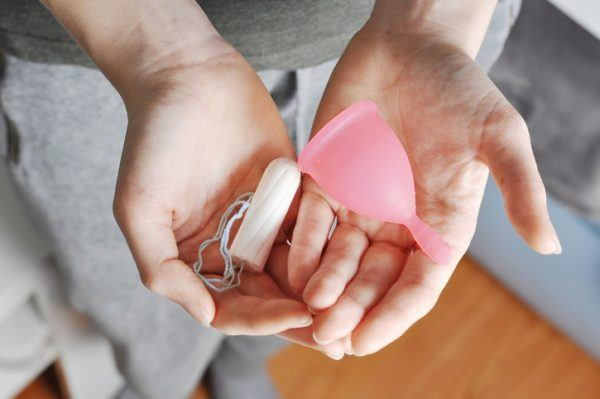 Copa menstrual tallas
