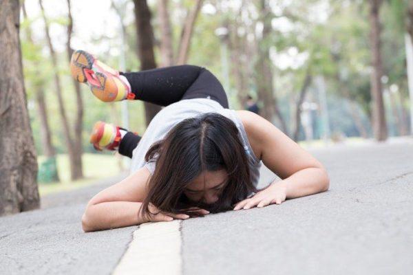 Desgarros musculares caida