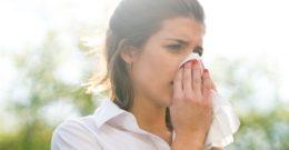 Los diferentes tipos de alergias