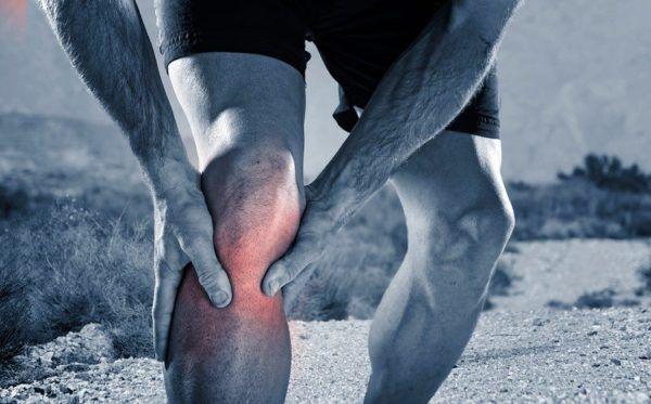 Dolor de rodilla punto rojo