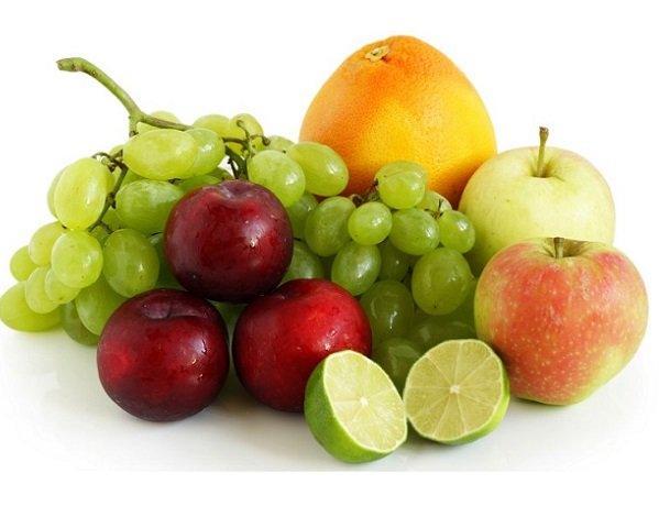 fruta para el colesterol