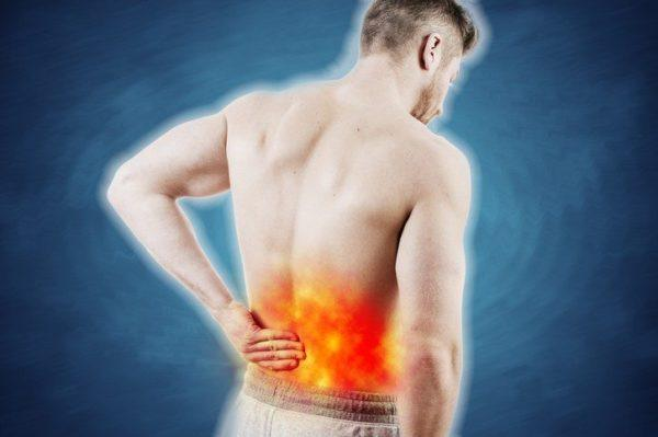 Hernia discal lumbar localizada