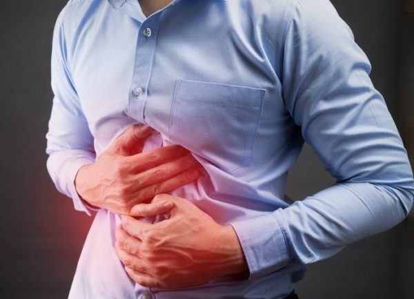 Hernia hiato sintomas punto rojo