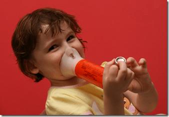 el asma infantil