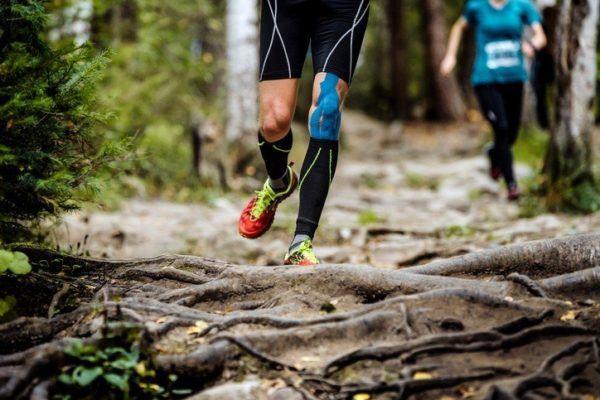 Kinesiotape vendaje neuro muscular runner