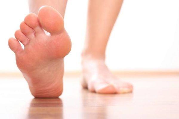 Metatarsalgia caminando