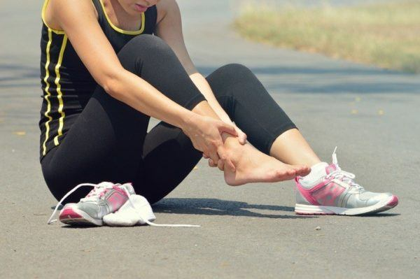 Metatarsalgia corredora