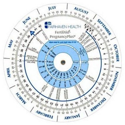 Pulsa para acceder al calendario de ovulación