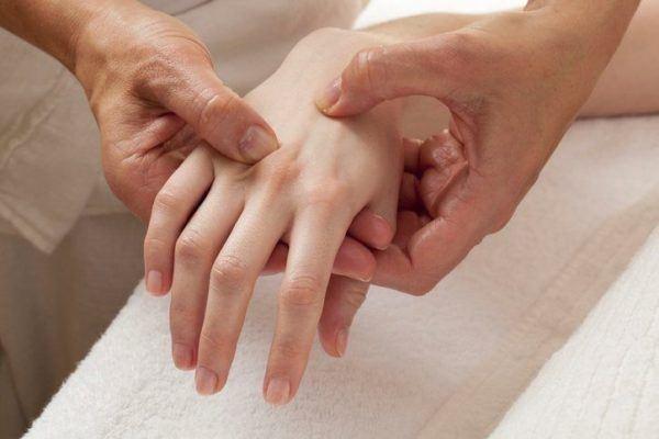 Sindrome del tunel carpiano masaje