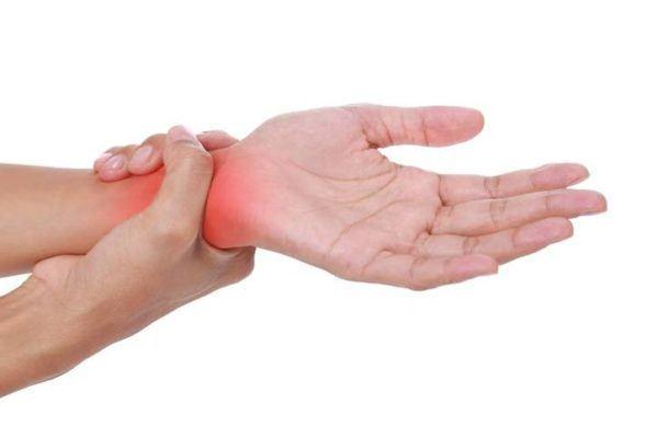 Sindrome del tunel carpiano punto de dolor