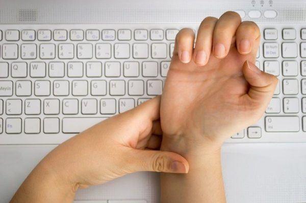 Sindrome del tunel carpiano teclado