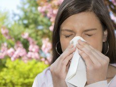Síntomas de alergia