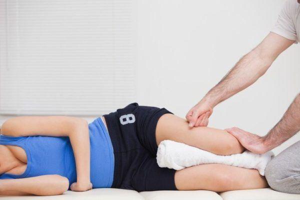 Sobrecargas de isquiotibiales masaje lateral