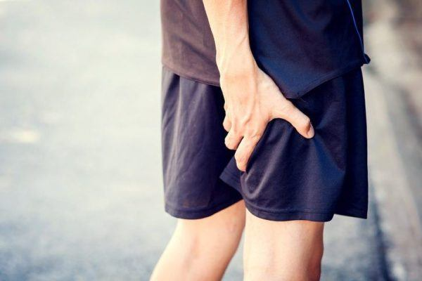 Sobrecargas de isquiotibiales pantalon corto
