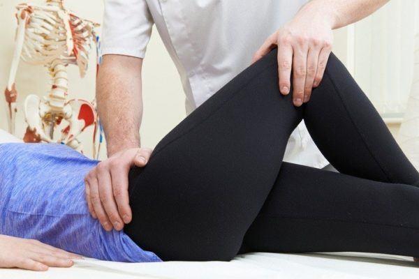 Trocanteritis izquierda fisioterapeuta